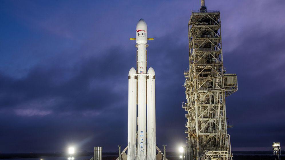 Foto: Falcon Heavy (Foto: EFE)