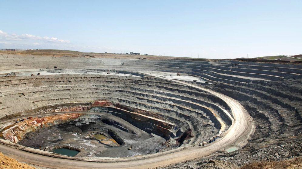 Foto: Vista de la corta de la mina antes del derrumbe. (CLC)