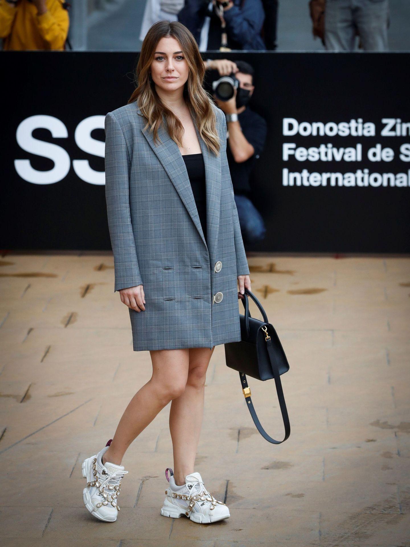 Blanca Suárez, en el Festival de Cine de San Sebastián. (EFE)