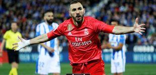Post de El empeño de Benzema por salvar al Real Madrid del ridículo le honra