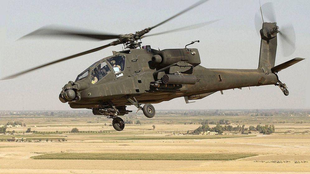 Foto: Helicóptero Apache AH-64D. (Foto: U.S. Army)