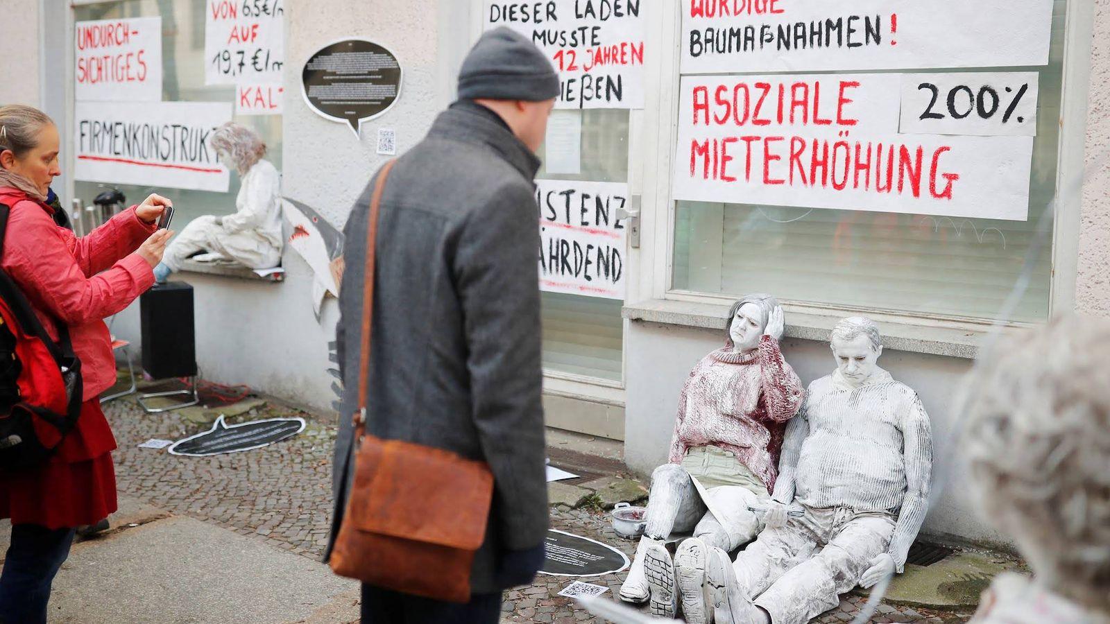 Foto:  Protesta en Berlín por la subida de alquileres el pasado 23 de febrero. (Reuters)
