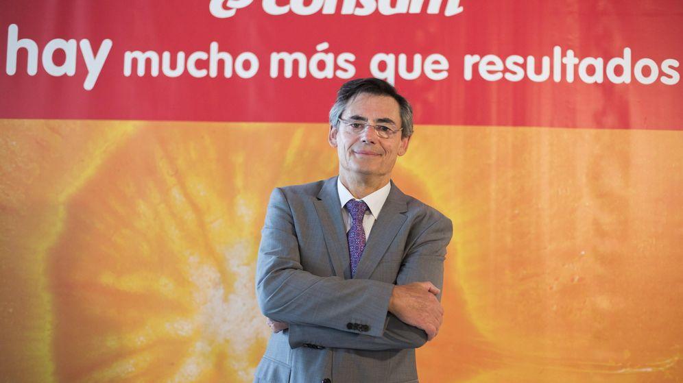 Foto: El director general de Consum, Juan Luis Durich.