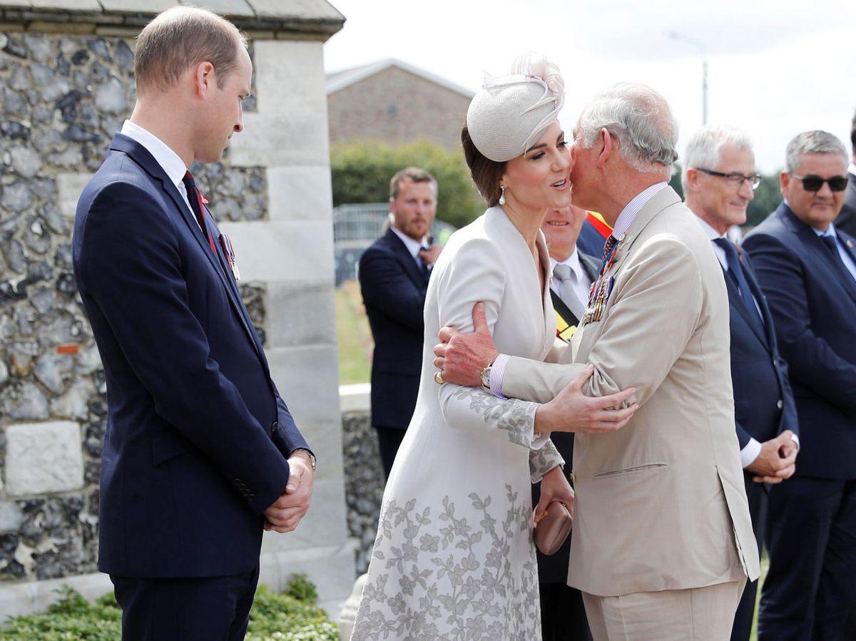 Foto: El príncipe Carlos y Kate Middleton, en una imagen de archivo. (Reuters)