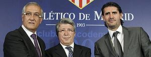 """Manzano pide confianza a la afición rojiblanca: """"Haré un Atlético fuerte y poderoso"""""""