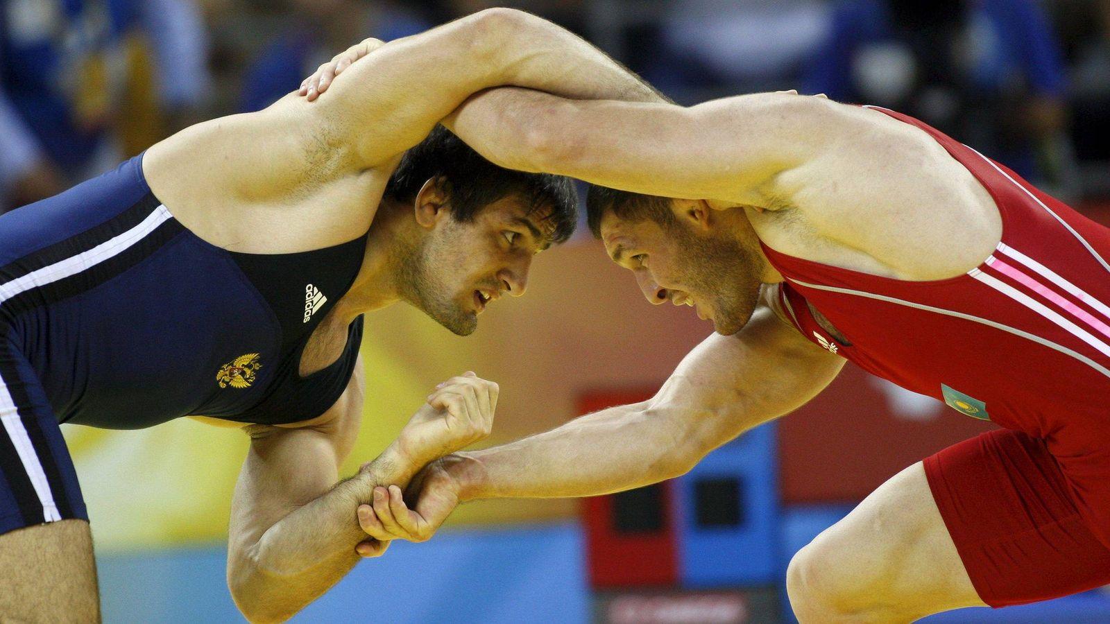 Foto: Muradov y Tigiyev en los Juegos de Pekín 2008. Foto: How Hwee Young (EFE)