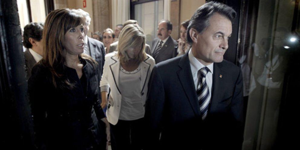 Foto: CiU cierra otro pacto con el PP para aprobar la 'ley estrella' de Mas