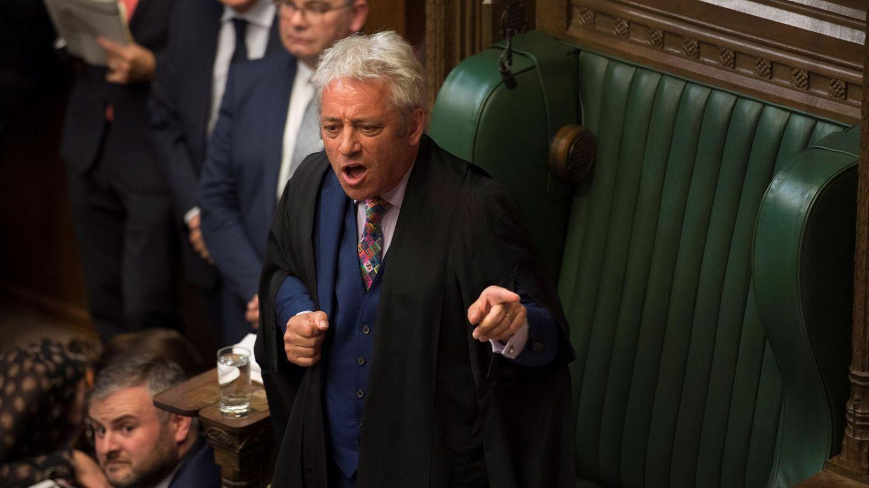 'Mr. Speaker' en el Parlamento británico. (Reuters)