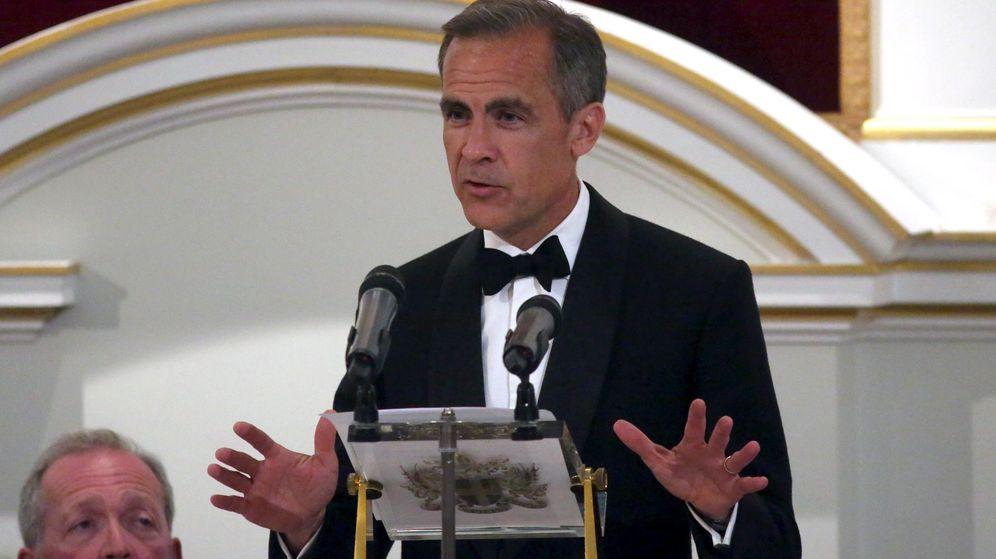 Foto: El gobernador del Banco de Inglaterra, Mark Carney en el Maison House. (Reuters)