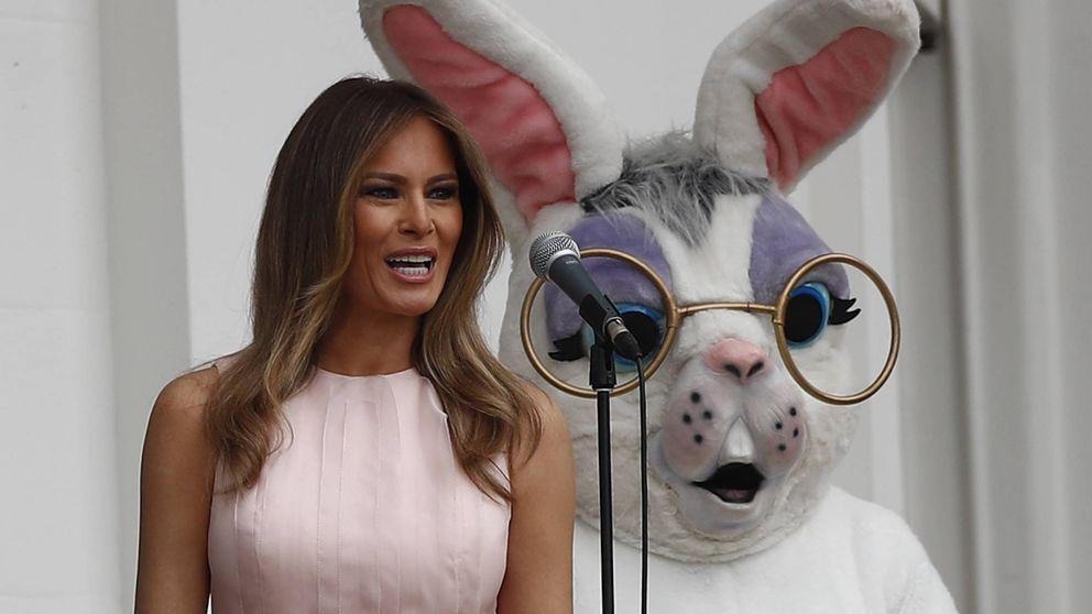 Los dos looks de Pascua de Melania Trump