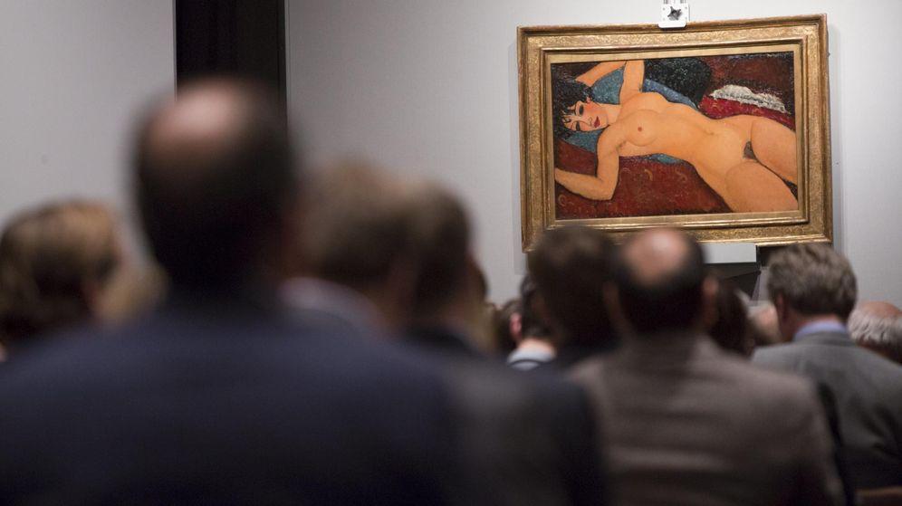 Foto: 170,4 millones de dólares se pagó el año pasado por 'Desnudo acostado', de Modigliani (Reuters)