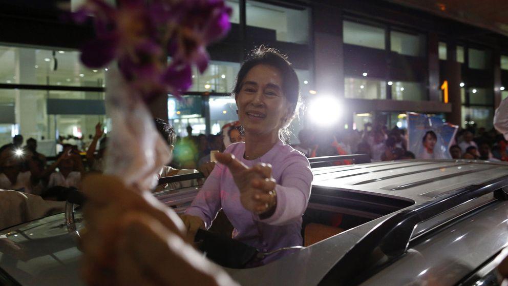 La Mandela de Birmania pierde su brillo pero gana premios en Europa