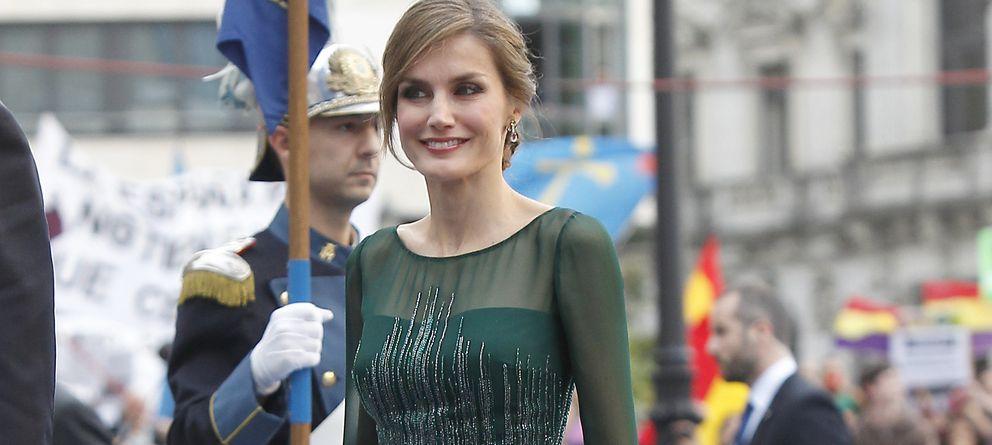 Foto: Los nueve looks de Doña Letizia en los Premios príncipe de Asturias