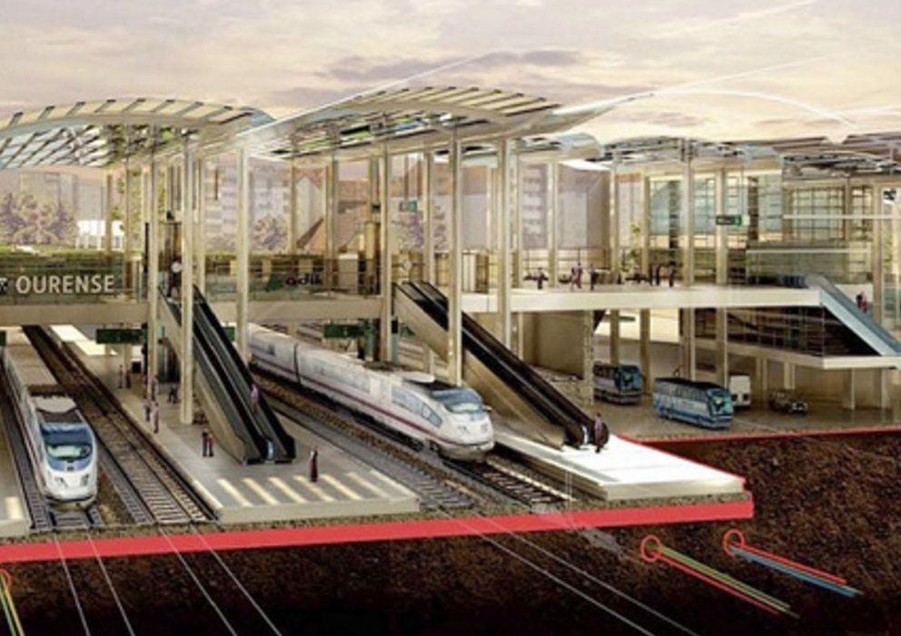 Norman foster firma la nueva estaci n de tren de ourense fotogaler as de espa a - Arquitectos ourense ...