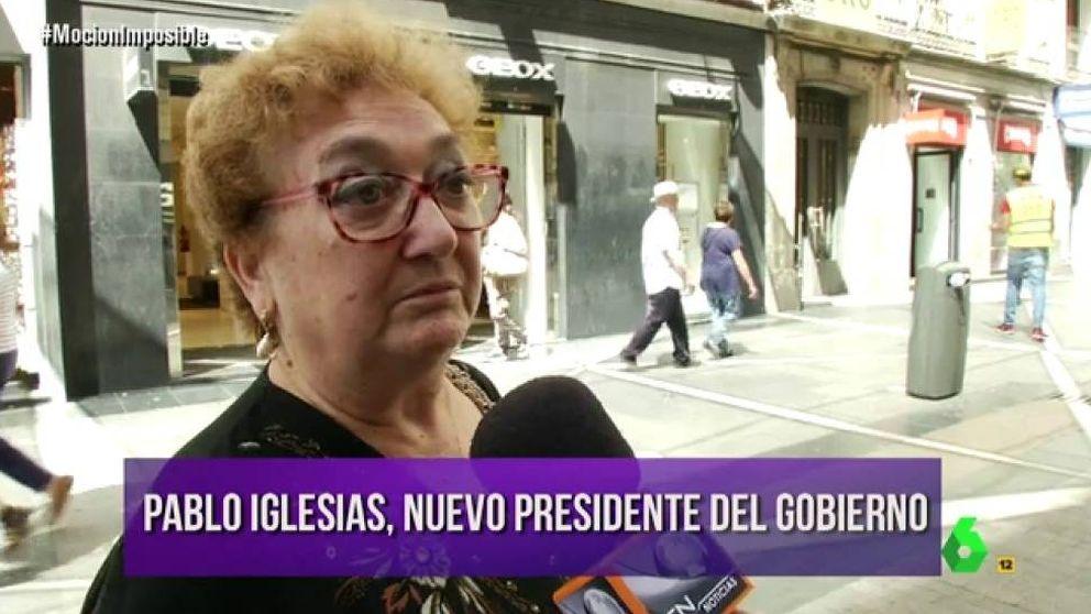 La reacción de la gente a si Pablo Iglesias fuera presidente: Nos quitará todo