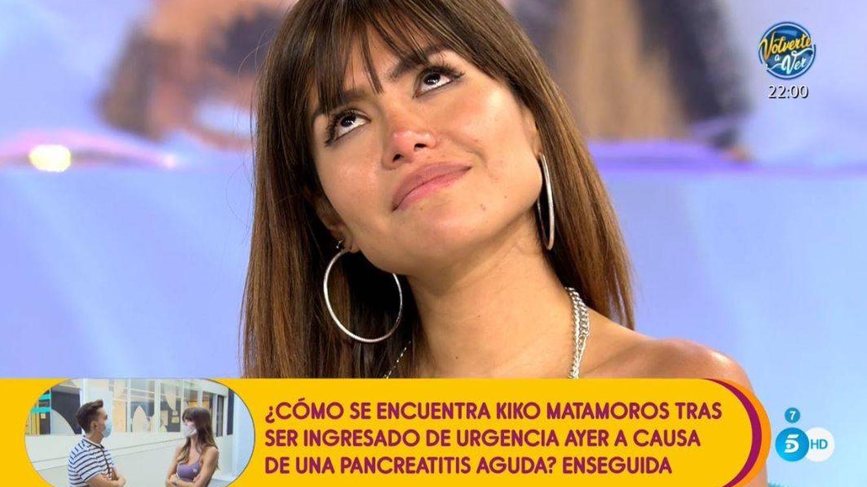 Miriam Saavedra sufre un ataque de ansiedad en 'Sálvame' tras enfrentarse a Carlos Lozano y Rafa Mora