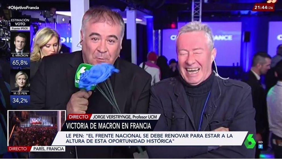Los elogios de Verstrynge a Marine Le Pen,  revolucionan el plató de 'El objetivo'
