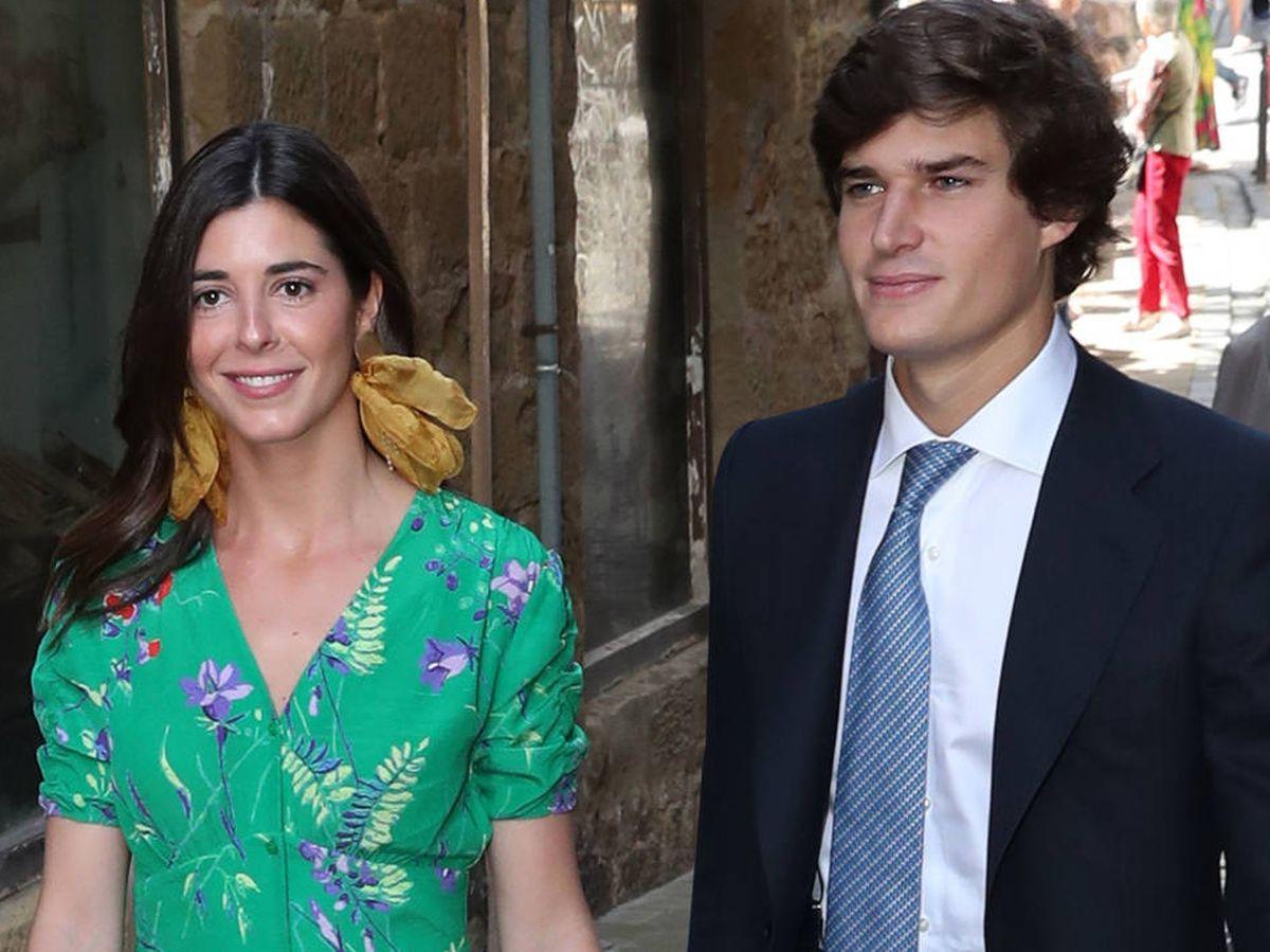 Foto: Belén Corsini y el conde de Osorno. (Gtres)