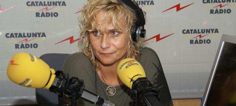 Foto: La periodista Mònica Terribas
