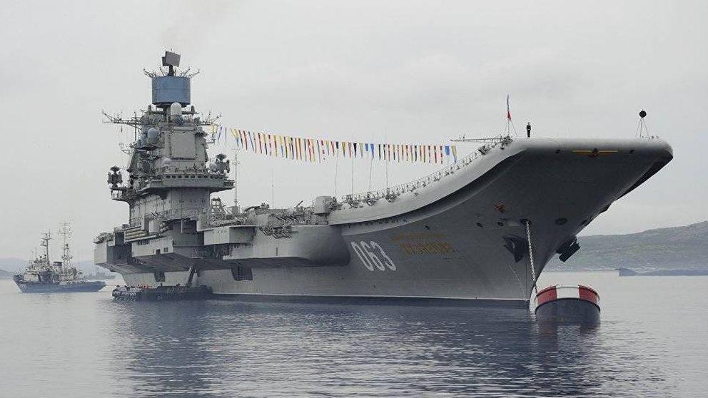 El superportaaviones de Rusia para plantar cara a Occidente (que nunca va a navegar)