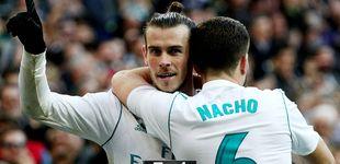 Post de Bale y Cristiano siguen el estandarte de Nacho para sacar de la tumba al Madrid