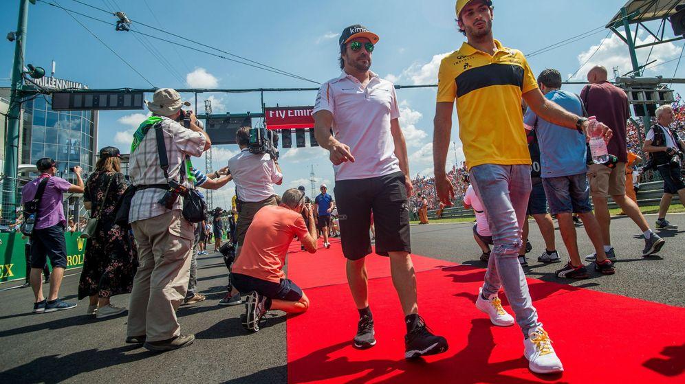 Foto: ¿Habrá pareja española en McLaren en 2019? (EFE)