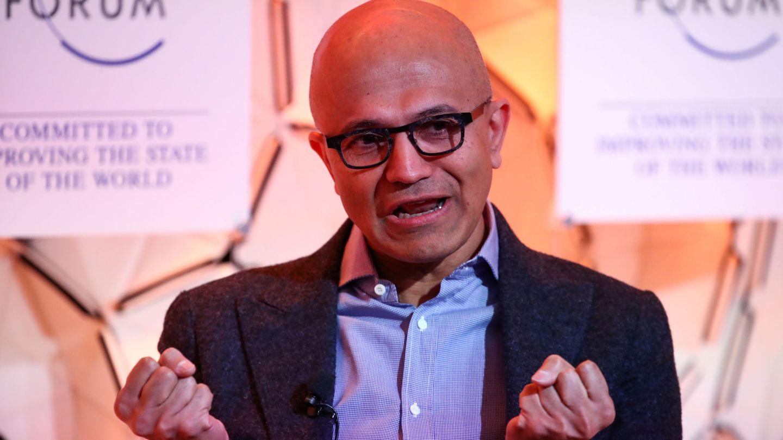 Satya Nadella, CEO de Microsoft. (Reuters)
