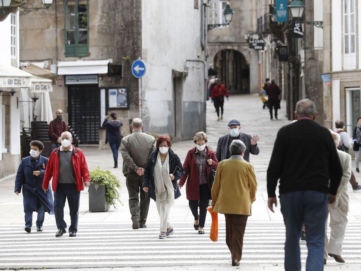Foto: Salidas a la calle en la fase 1. (EFE)