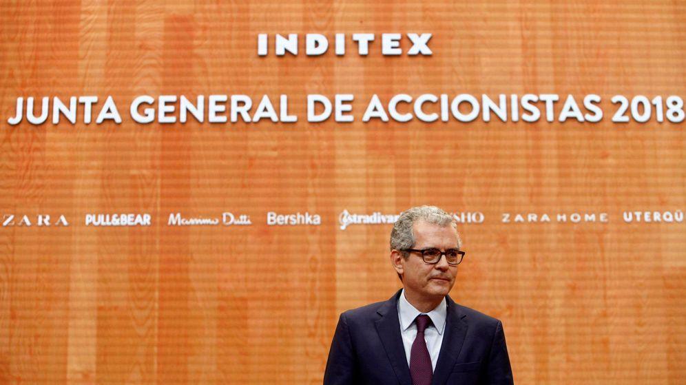 Foto: Pablo Isla, presidente ejecutivo de Inditex. (EFE)