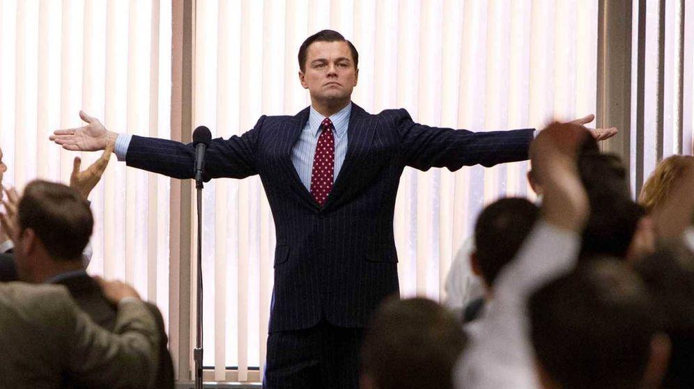 Foto: Leonardo DiCaprio en 'El lobo de Wall Street', donde encarna a Jordan Belfort, rico estadounidense fundador de Stratton Oakmont.