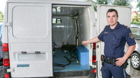 La camioneta con niños refugiados en estado grave tiene matrícula española
