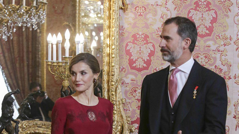 Foto: Los Reyes Felipe y Letizia en una imagen de archivo. (Gtres)