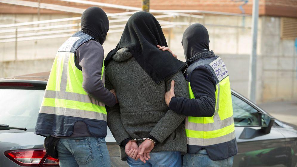 Foto: Imagen de archivo de un presunto yihadista este mes en Vitoria. (EFE)