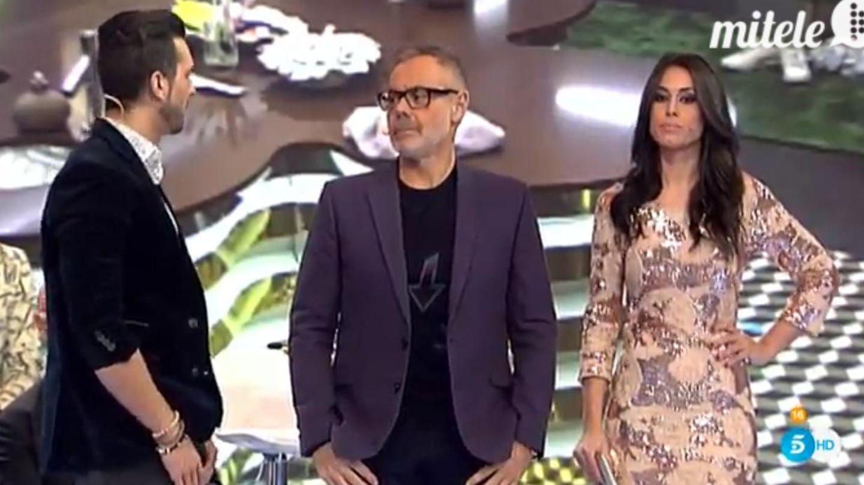 Suso, Jordi González y Raquel