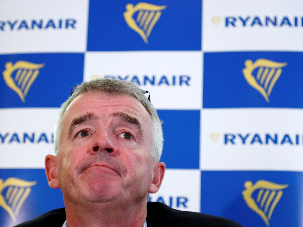 Foto: El consejero delegado de Ryanair, Michael O'Leary. (Reuters)