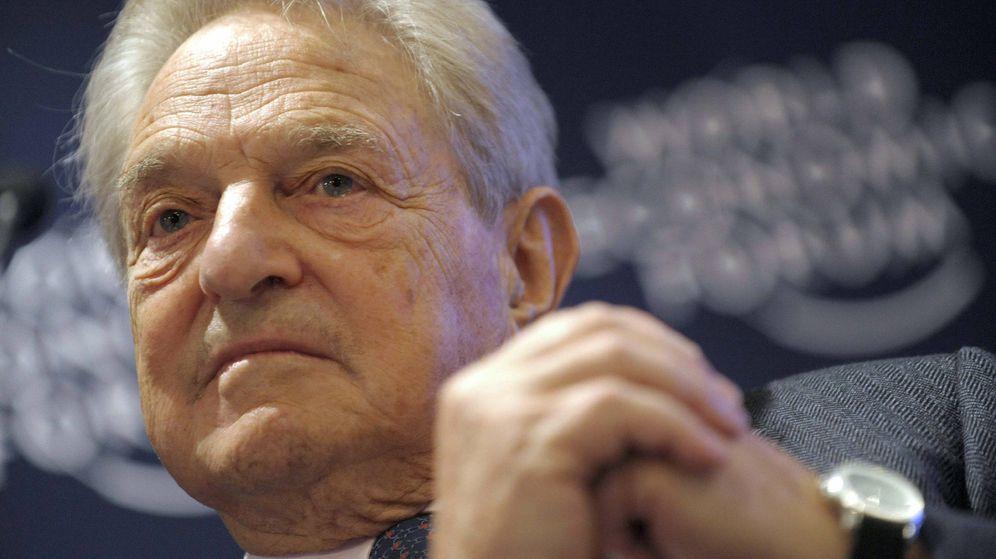 Foto: El millonario filántropo George Soros en el Foro de Davos. (EFE/Laurent Gillieron)