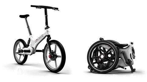 G2R, la bici eléctrica y plegable de Gocycle