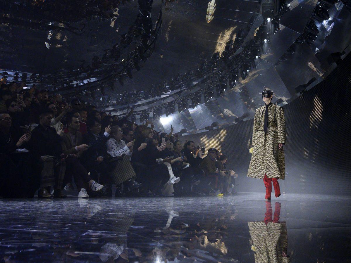 Foto: Gucci, en la pasarela otoño-invierno 2019/20. (Getty)