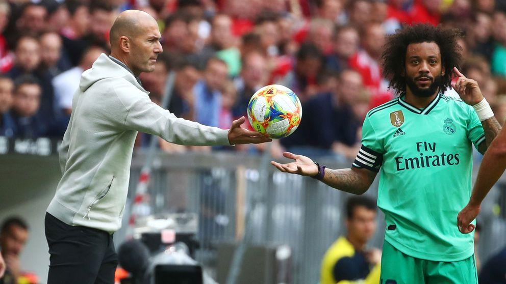 La revolución de Zidane en el Real Madrid tenía a Marcelo como víctima