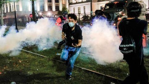 El gas lacrimógeno, usado contra los manifestantes, propaga el Covid-19