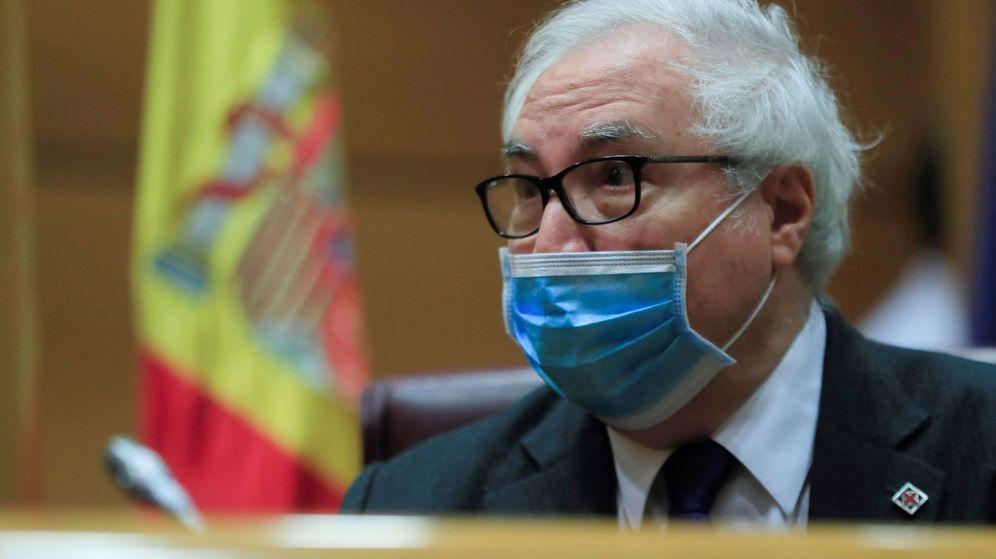 Foto: El ministro de Universidades, Manuel Castells. (EFE)