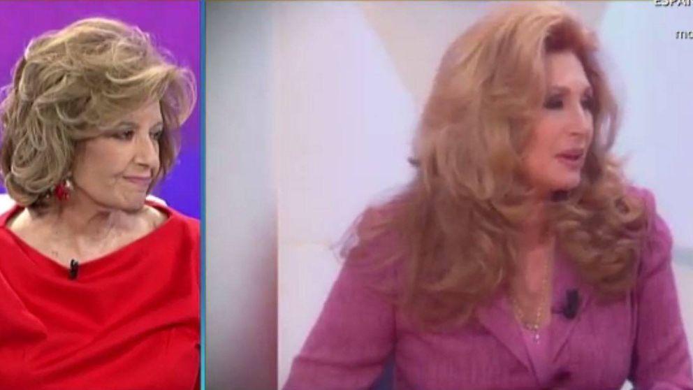 María Teresa Campos se emociona al recordar a Rocío Jurado