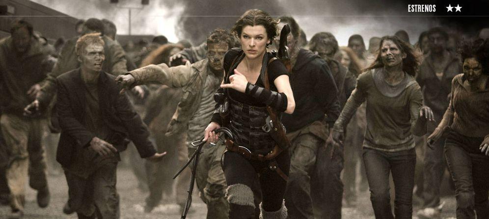 Foto: Milla Jovovich protagoniza 'Resident Evil: capítulo final'.