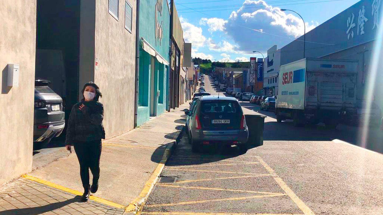 Una calle de Cobo Calleja. (A. V.)