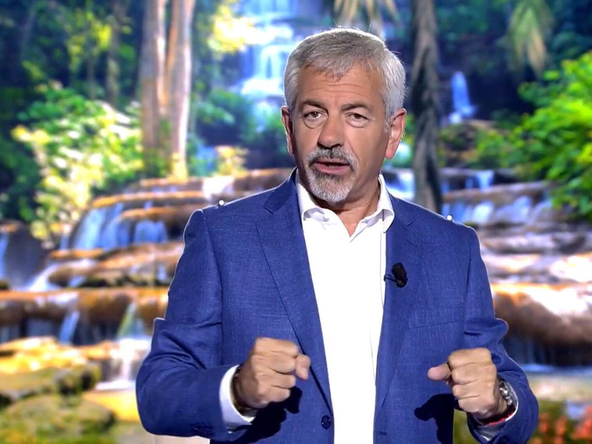 Foto: El presentador Carlos Sobera. (Mediaset)