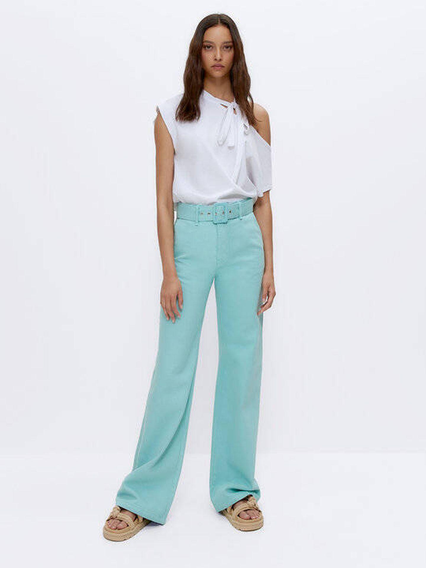 Pantalones de Uterqüe. (Cortesía)