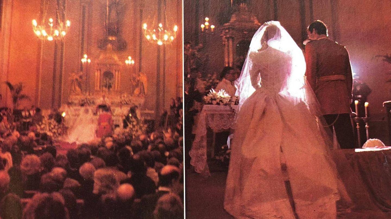 Imágenes de la ceremonia celebrada en 1981.