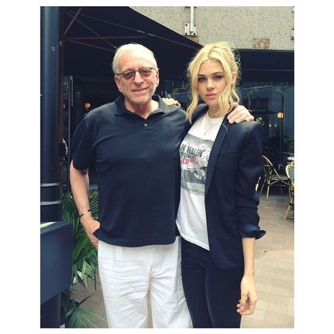 Nicola y su padre (Foto: Instagram)
