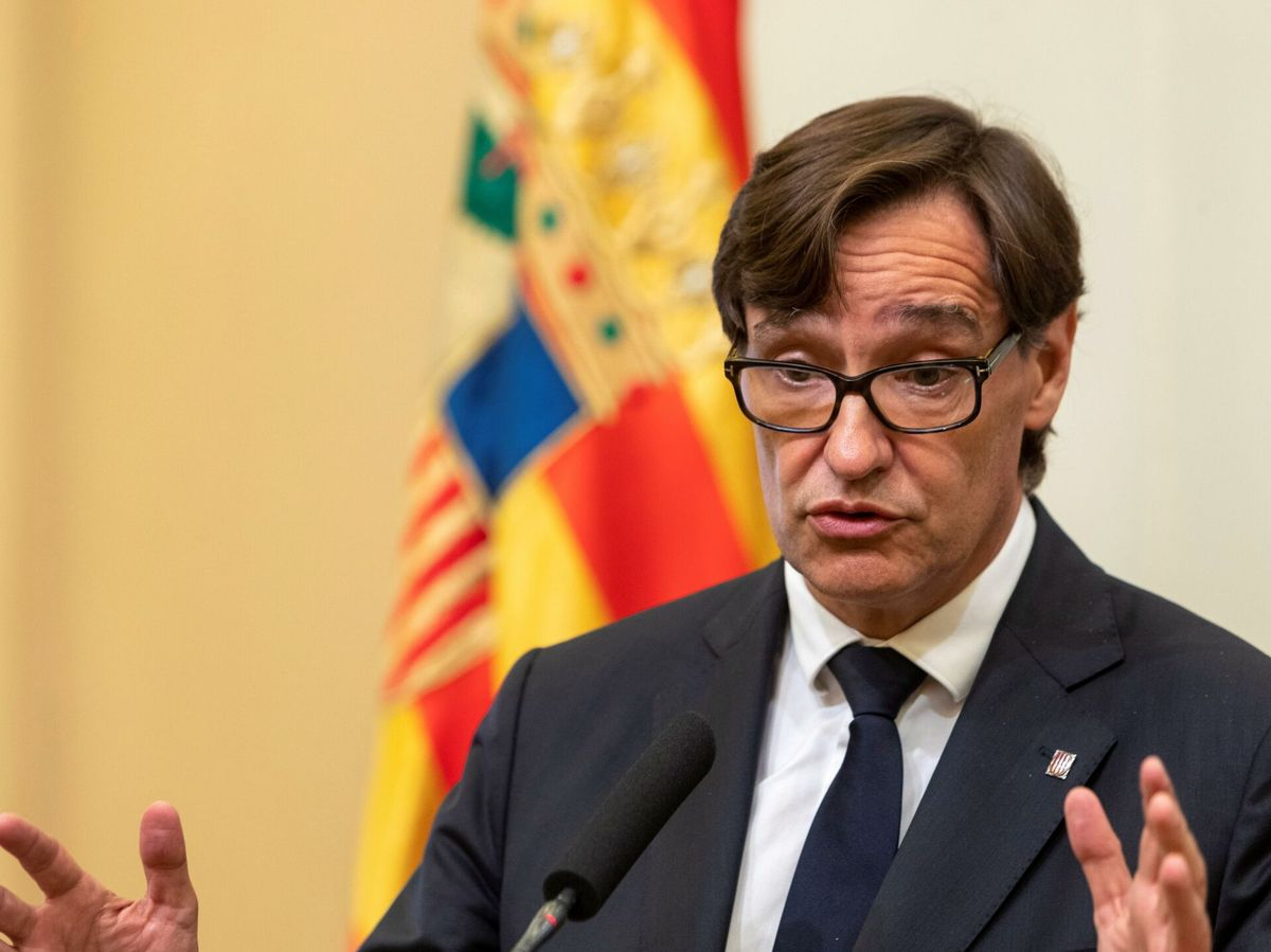 Foto: El portavoz del PSC en el Parlament de Cataluña, Salvador Illa. (EFE)