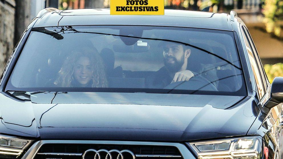 Exclusiva: Shakira recupera la sonrisa junto a Piqué tras la tormenta